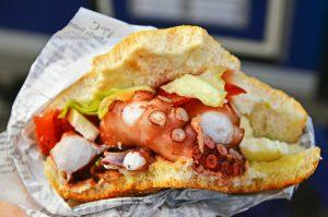 panino con polpo food truck