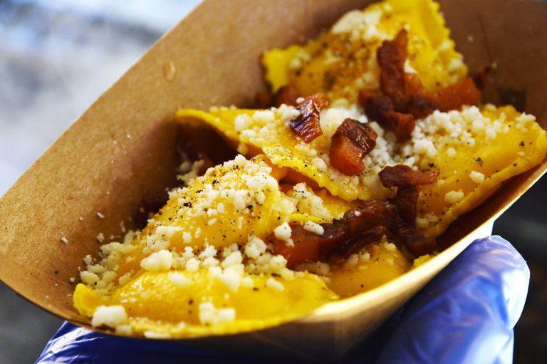 ravioli street food